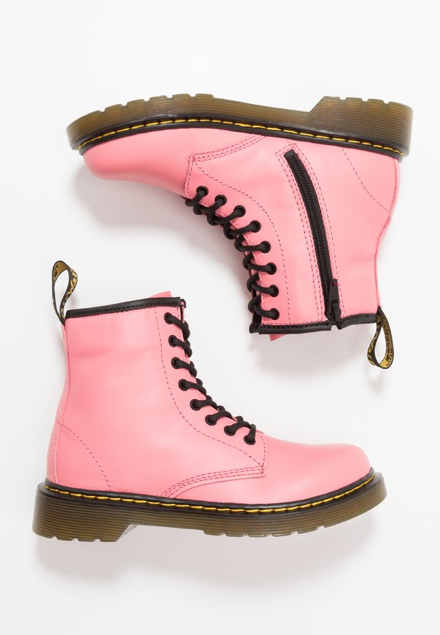 1460 ROMARIO - Lace-up ankle boots - acid pink