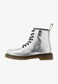 Dr. Martens - 1460 J - Lace-up ankle boots - silver metallic - 1