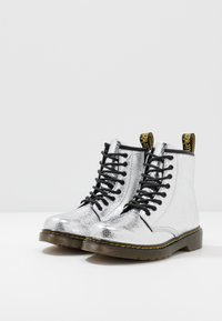 Dr. Martens - 1460 J - Lace-up ankle boots - silver metallic - 3