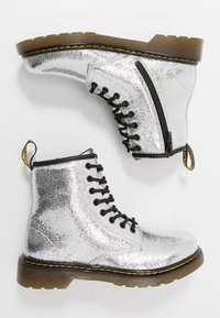 Dr. Martens - 1460 J - Lace-up ankle boots - silver metallic - 0