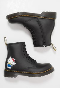 Dr. Martens - 1460 HELLO -KITTY J - Lace-up ankle boots - black - 0