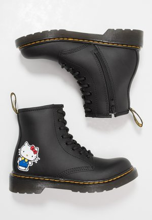 1460 HELLO -KITTY J - Lace-up ankle boots - black