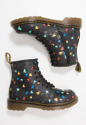 1460 HEARTS  - Lace-up ankle boots - black