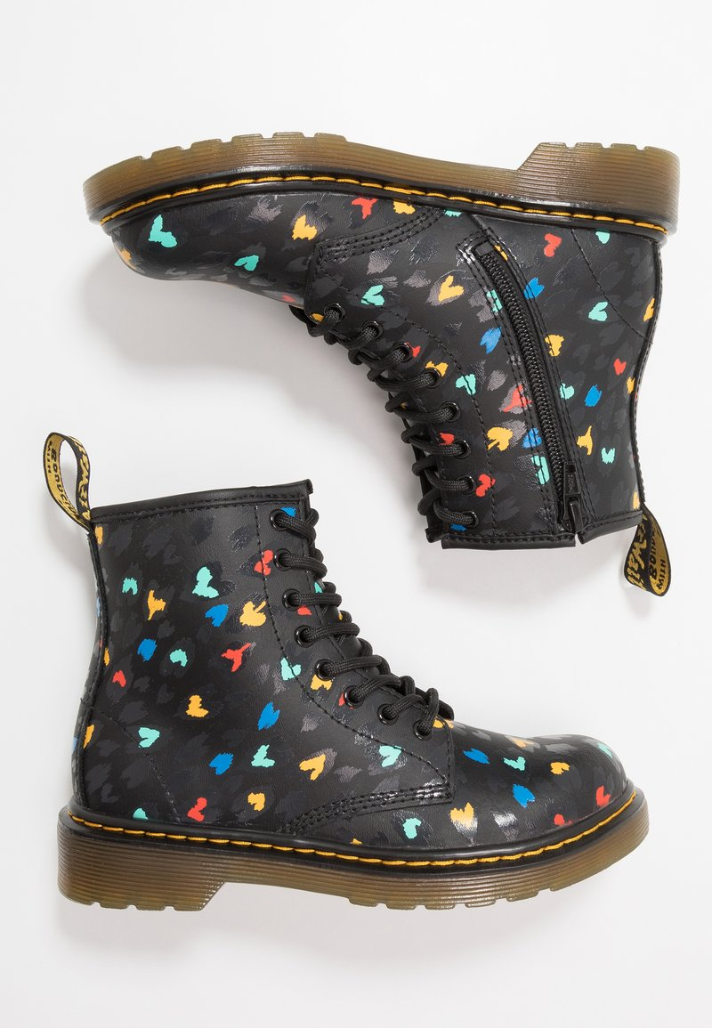 Dr. Martens - 1460 HEARTS  - Lace-up ankle boots - black