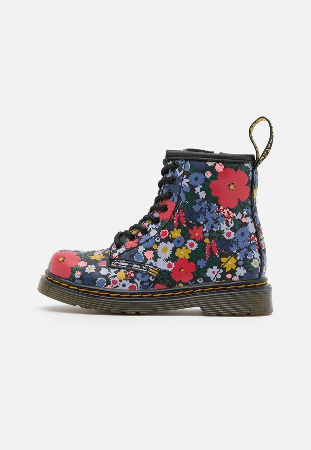 WANDERFLORA  - Lace-up ankle boots - black