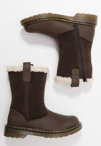 Dr. Martens - JUNEY JUNIOR - Winter boots - dark brown - 0