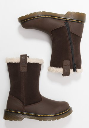 JUNEY JUNIOR - Botas para la nieve - dark brown