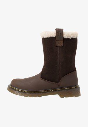 JUNEY JUNIOR - Winter boots - dark brown