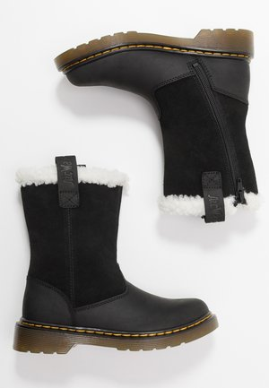 JUNEY JUNIOR - Snowboots  - black