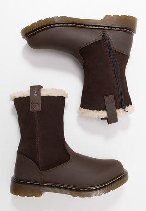 JUNEY YOUTH - Śniegowce - dark brown