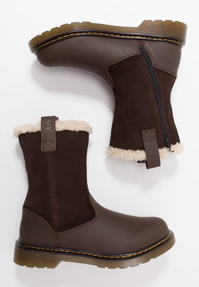 JUNEY YOUTH - Snowboot/Winterstiefel - dark brown