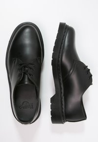 Dr. Martens - 1461 VIRGINIA - Oksfordki - mono black - 1