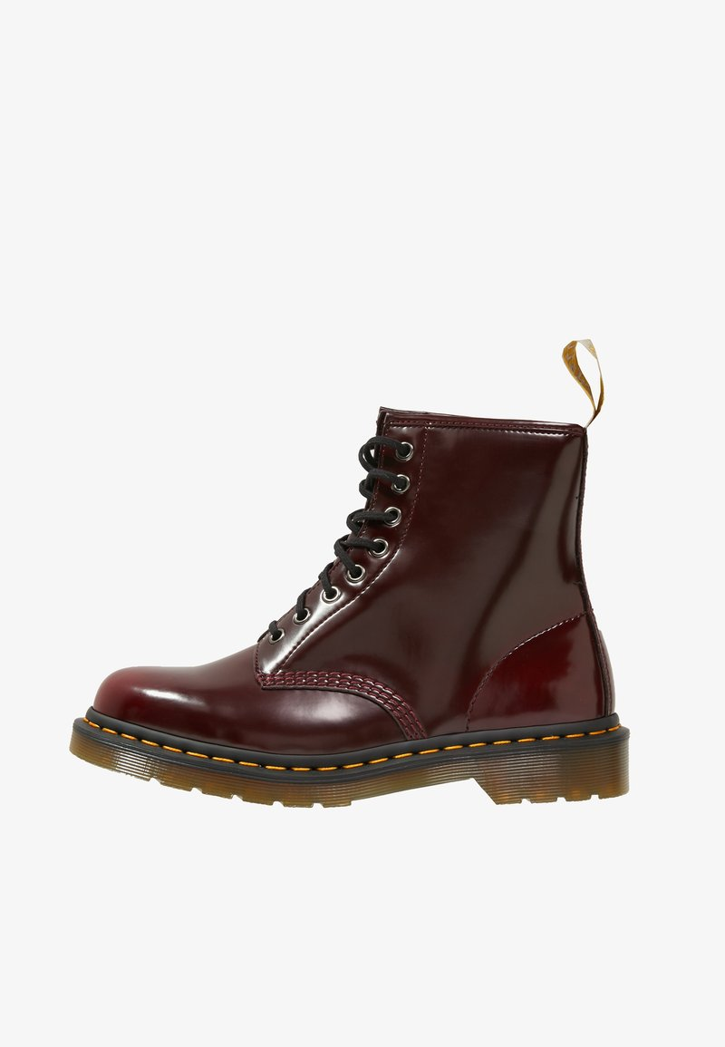Dr. Martens - VEGAN - Lace-up ankle boots - cherry