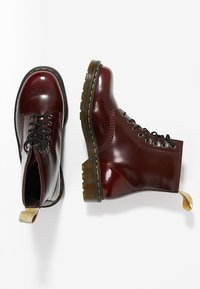 Dr. Martens - Lace-up ankle boots - cherry - 1