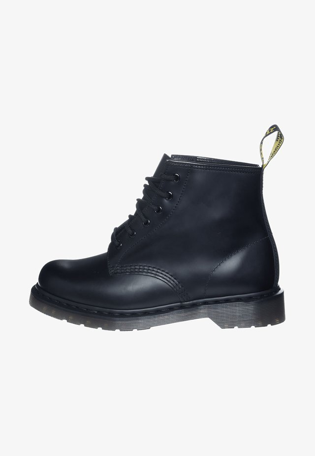 101 BOOT - Stivaletti stringati - black