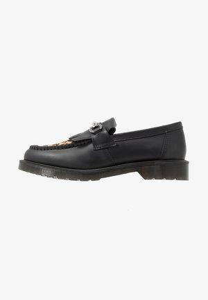 ADRIAN SNAFFLE - Nazouvací boty - black