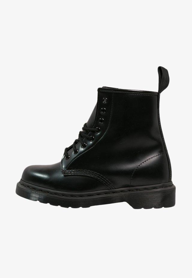 1460 - Snörstövletter - mono black