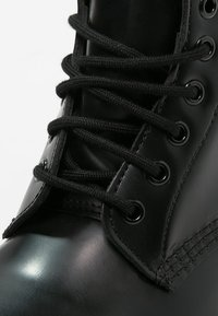Dr. Martens - 1460 - Šněrovací kotníkové boty - mono black - 5