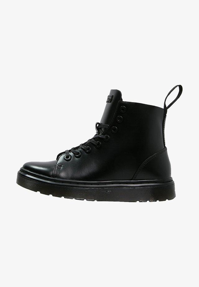TALIB BOOT - Snörstövletter - black