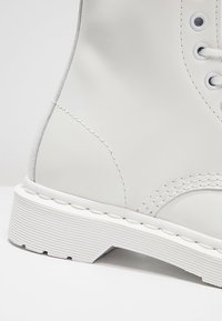 Dr. Martens - 1460 MONO BOOT - Lace-up ankle boots - white - 5