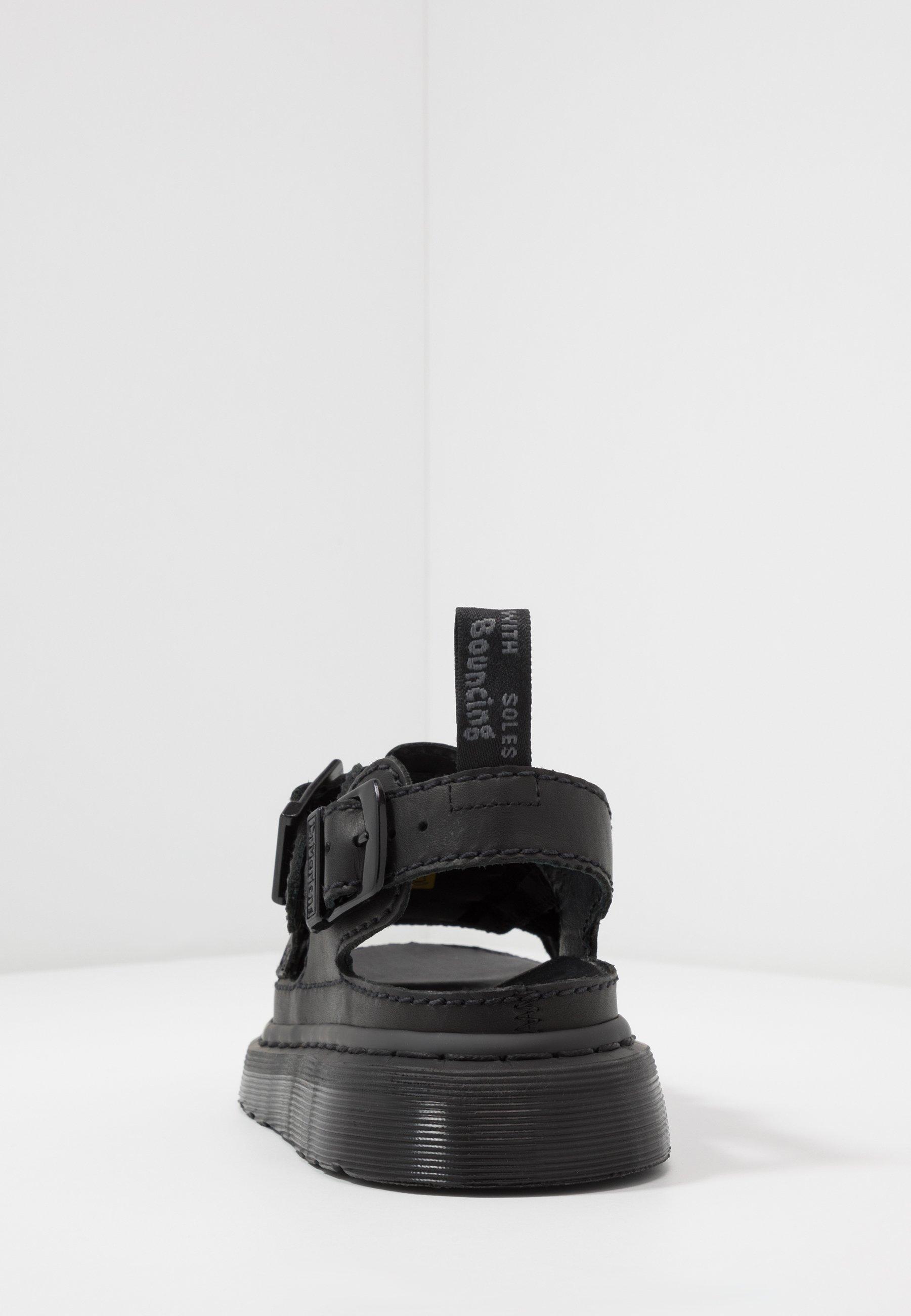 8092 ARC Sandaalit nilkkaremmillä black