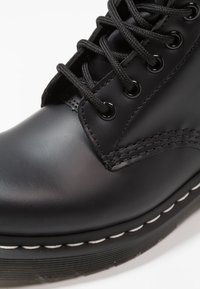 Dr. Martens - 1460  BOOT - Lace-up ankle boots - black/white - 6