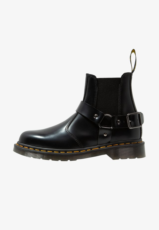 WINCOX CHELSEA BOOT - Stövletter - black smooth