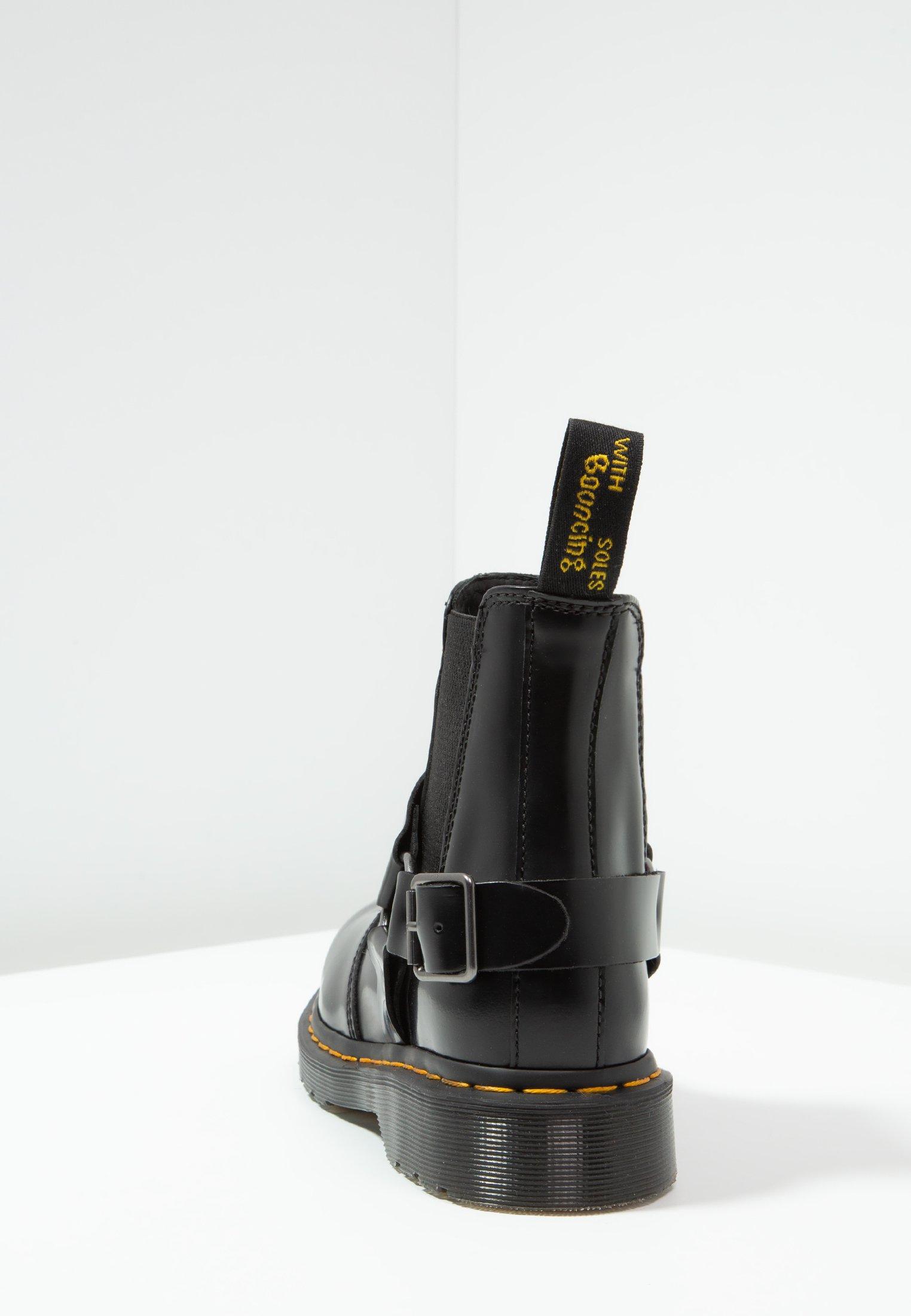 Dr. Martens Wincox Chelsea Boot - Støvletter Black Smooth