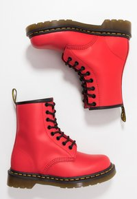 Dr. Martens - 1460 - Lace-up ankle boots - satchel red - 1