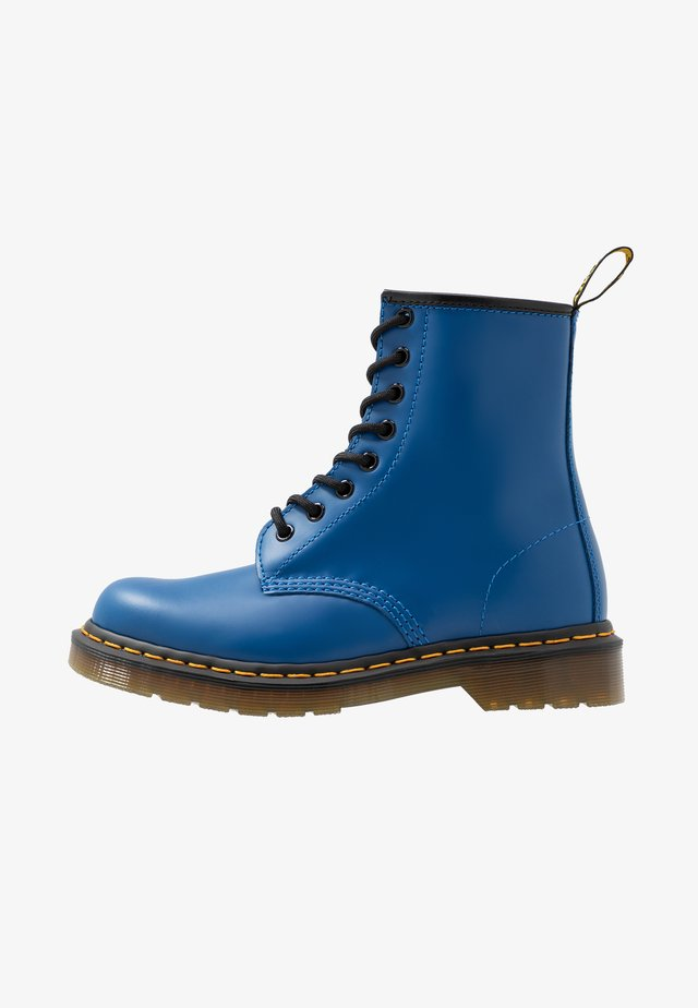 1460 8 EYE BOOT - Lace-up ankle boots - blue