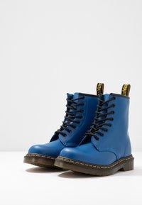 Dr. Martens - 1460 - Lace-up ankle boots - blue - 2