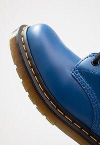 Dr. Martens - 1460 - Lace-up ankle boots - blue - 5