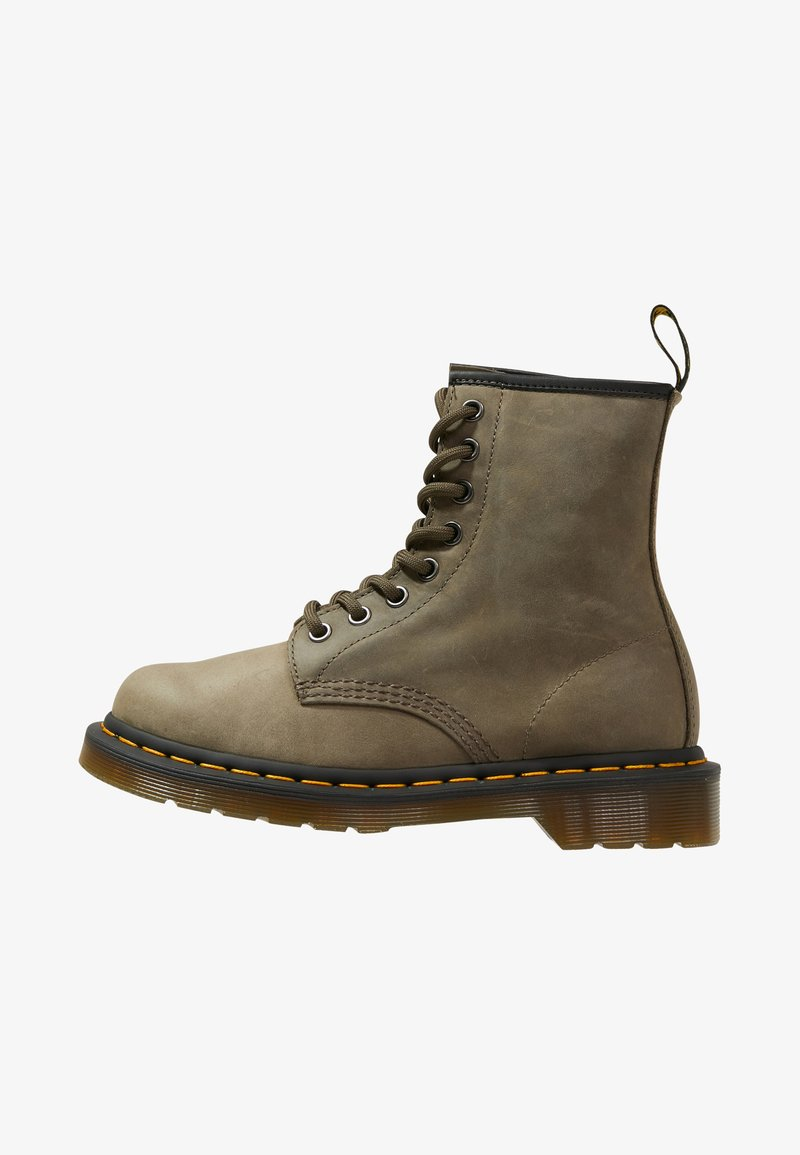 Dr. Martens - 1460 - Lace-up ankle boots - olive