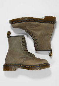 Dr. Martens - 1460 - Lace-up ankle boots - olive - 1