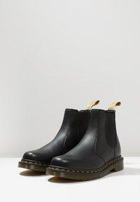 Dr. Martens - 2976 CHELSEA VEGAN - Classic ankle boots - black - 2