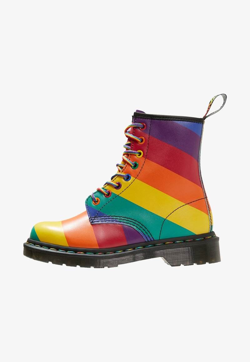 Dr. Martens - 1460 RG EYE - Lace-up ankle boots - multi coloured