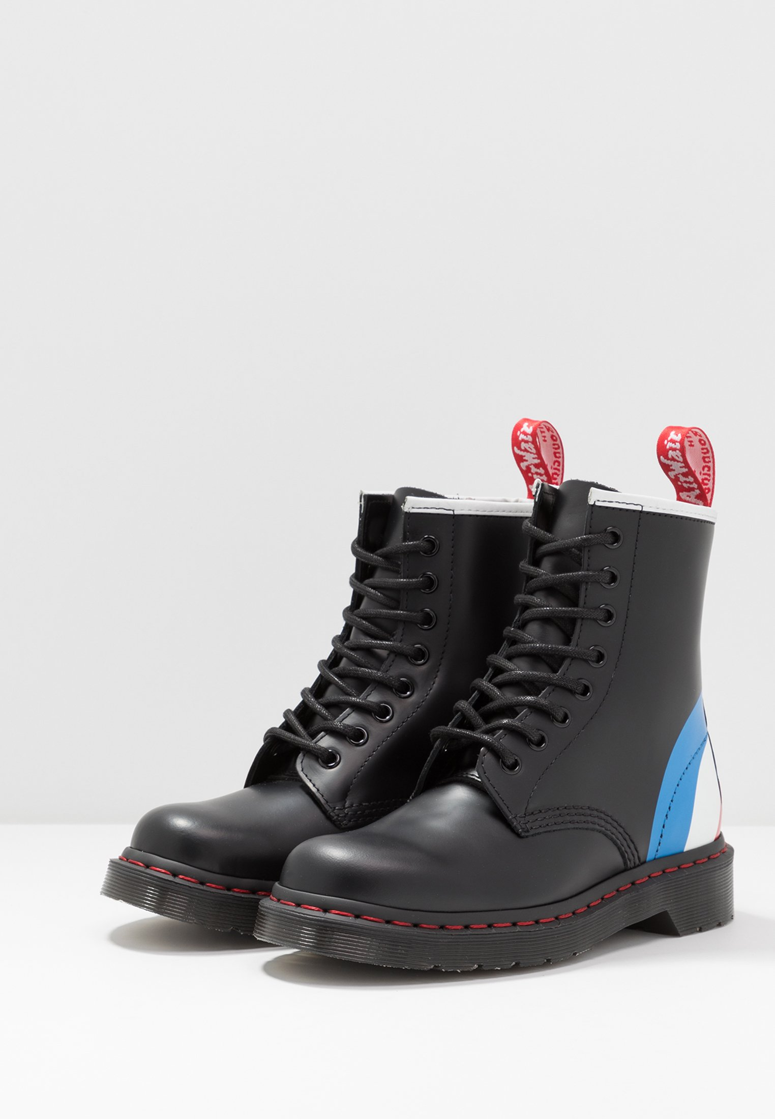 Dr. Martens 1460 Who - Bottines À Lacets Black Smooth