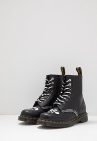 Dr. Martens - 1460 CBGB - Lace-up ankle boots - black - 2