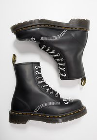 Dr. Martens - 1460 CBGB - Lace-up ankle boots - black
