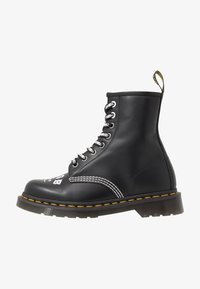 Dr. Martens - 1460 CBGB - Lace-up ankle boots - black - 0