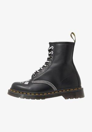 1460 CBGB - Lace-up ankle boots - black