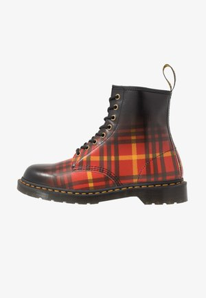 1460 TARTAN - Lace-up ankle boots - backhand straw grain