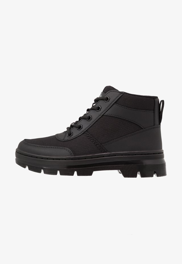 BONNY TECH MILITARY BOOT - Snörstövletter - black