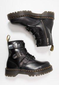 Dr. Martens - 1460 FENIMORE HARDWARE 8 EYE - Cowboy/biker ankle boot - black - 1