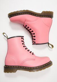Dr. Martens - 1460 8 EYE BOOT - Lace-up ankle boots - acid pink smooth - 1