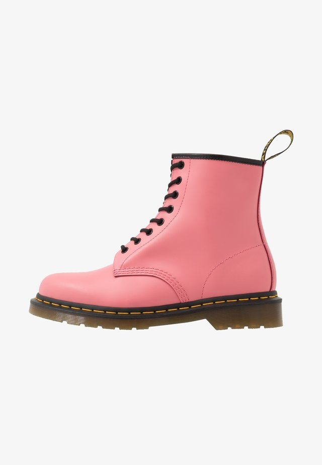 1460 8 EYE BOOT - Lace-up ankle boots - acid pink smooth