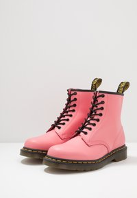 Dr. Martens - 1460 8 EYE BOOT - Lace-up ankle boots - acid pink smooth - 2
