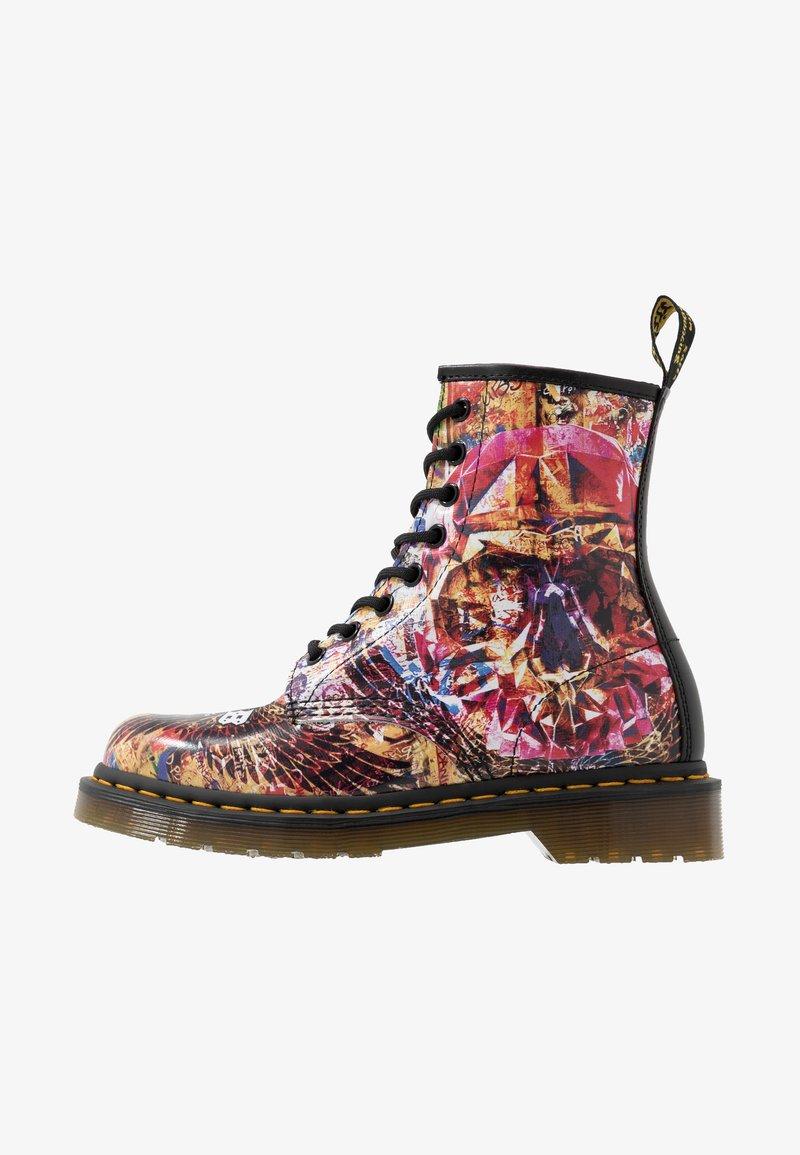 Dr. Martens - 1460 CBGB - Lace-up ankle boots - multicolor