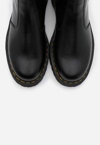 Dr. Martens - 2976 BEX - Kotníkové boty - black smooth - 4