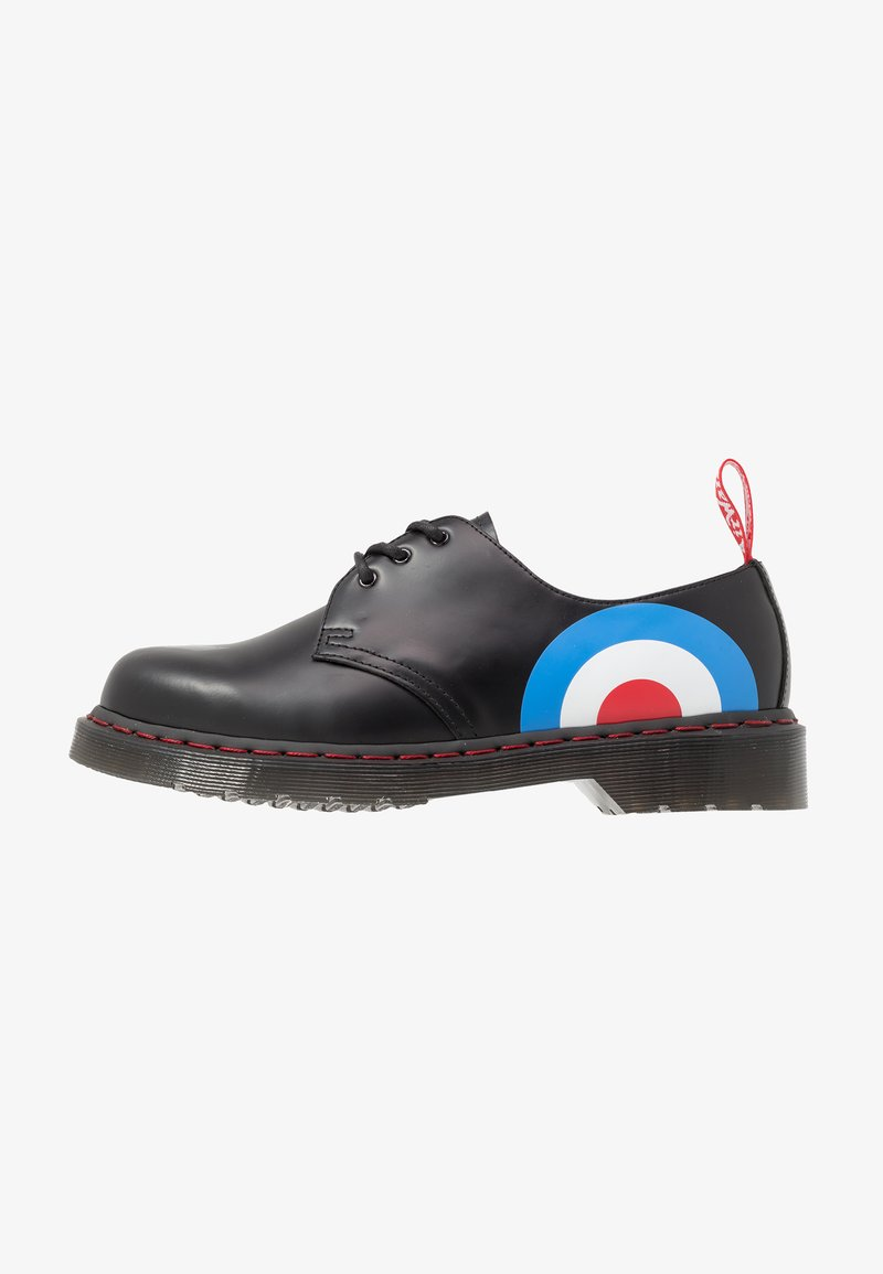 Dr. Martens - 1461 WHO - Sportiga snörskor - black smooth